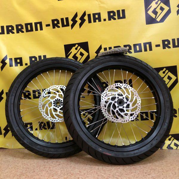 Комплект колес SUR-RON SUPER MOTO (Разно широкие)